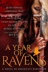 A Year of Ravens: A Novel of Boudica's Rebellion - by Vicky Alvear Shecter